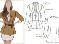 contemporary sewing patterns