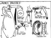 Vintage patterns, historical dressmaking, old time fashion techniques for costume making
