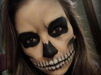 A face paint: Halloween