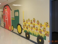 School-bulletin boards/doors
