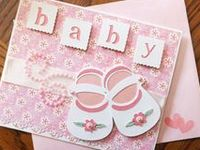 handmade cards for babies, handmade cards for children, handmade cards for baby showers