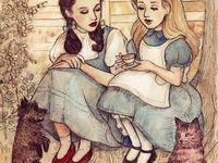 Alice in Wonderland and The Wizard of Oz
