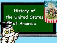 U.S.A. history and social studies topics