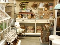 The best kept secret of flea-markets most of it comes from yard/garage sales who doesn't love a good deal that will fit your home perfectly..