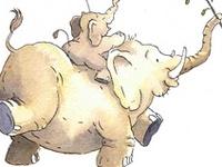 Thema olifanten kleuters, lessen en knutsels/ Elephant theme preschool, lessons and crafts
