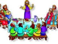 Bijbel: Het laatste avondmaal, kleuters, knutselwerkjes, verwerking, kleurplaten,lessen / Bible: Jesus the last supper, preschool