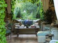 Ground Level Deck Ideas Seating Areas