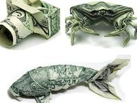Art and other coolness made from money.