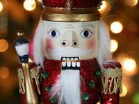 I love collecting nutcrackers.  One hundred and twenty at present.