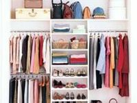 Die besten 17 bilder zu ordnung im kleiderschrank auf for Minimalistisch leben kleidung