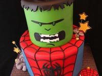 Cakes: Super Heroes
