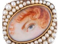 Georgian/Regency-era jewelry.  From 1714 to 1830.