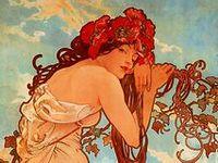 Art Deco & Art Nouveau:  An Echo of Deco, A Trousseau of Nouveau