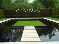 Garden ponds, rills and water features that inspire.
