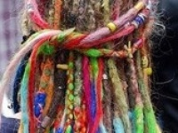 Dreadlocks, also called locks, a ras, dreads, or Jata (Hindi), are matted coils of hair. Dreadlocks are usually intentionally formed; because of the variety of different hair textures, various methods are used to encourage the formation of locks such as backcombing.