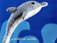 ... Dolphins & Whales! on Pinterest | Dolphins, Crochet whale and Whales