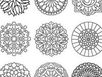 Coloring pages printable moroccan tile coloring pages for Moroccan coloring pages
