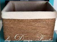 Using ♥ Newspaper & Cardboard Boxes