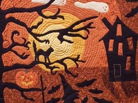 Halloween sewing & quilting