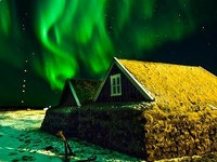 ~ Northern Lights were named for the goddess of the dawn whom the Romans called Aurora (usually described as rosy-fingered by the Greeks) and for the god of the north wind which in Latin is Boreas. ~