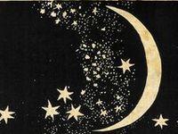 ☾ ● ◯  Moon and Stars ☆☆