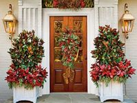 Pinterest christmas porch christmas door and christmas front doors