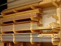 All about wood storage: racks, carts, etc. Panel Saw. Sheet breakdown. Sawhorses