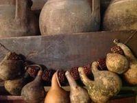 Primitive Garlands, Ropings & Drieds