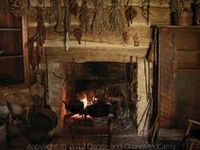 Outside the snow is falling, inside the hearth is lighted and the aroma of cooking fills the air..... contentment.
