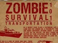 overlanding - doomsday preppers - pre/post-apocalyptic