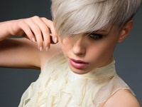 1000+ images about Short Hair. Big Earrings! on Pinterest