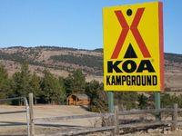 An EXELLENT place to camp KOA