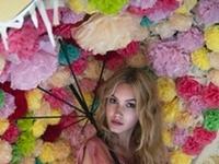Stripes, polka dots, pom poms and flowers - Rayas, lunares, pompones ...