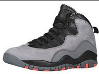 $109 Cheap Jordans 10 Cool Grey Infrared 10S For Sale 2014