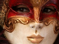 The mystery of the masquerade has always held our global attention. I want to go to Venice, to Brazil, to the romantic places during Carnival...anything can happen!