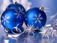 ~40~Modern Blue Christmas~
