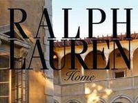 """Ralph Lauren   """"home"""""""