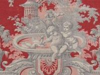 papier peint laura ashley toile jouy