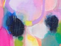 Art, prints, photographs, illustrations, mix media pieces, collages with an abstract style
