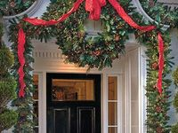 Christmas entrances on pinterest front doors christmas door and