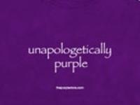 it's a purple world!