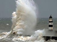 Lighthouses and Crashing Waves