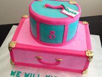 Luggage Cakes