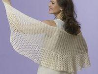 Crochet.  Shawl & Scarfs