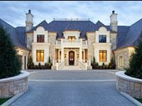 "Dream Homes  ♔ Please follow the ""Pinterest Etiquette"" and pin respectfully.♔"