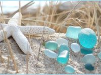 Sea glass is so beautiful!  I am making jewelry out of it!