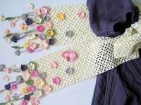 Crocheted Scarves & Shawls