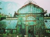 Inspiration for my own future greenhouse, garden shed...