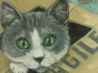 Animals: Kitties in Art again