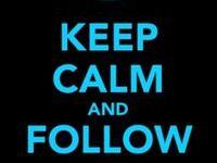 Keep Calm -and Follow me